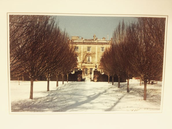 The front of the card - a picture of Highgrove