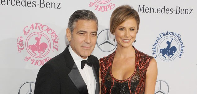 George Clooney buys girlfriend a closet (but no ring)