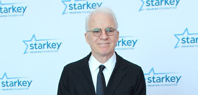 Steve Martin becomes a first-time dad at 67