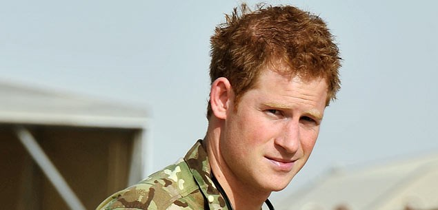 Prince Harry flirts with Pussycat Doll