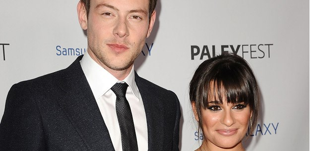 Lea Michele supports Cory Monteith through rehab