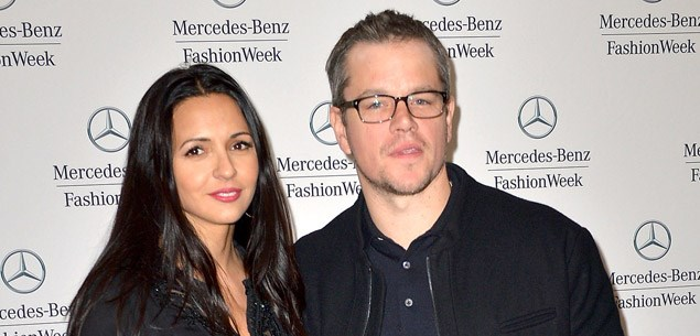 Matt Damon renews wedding vows