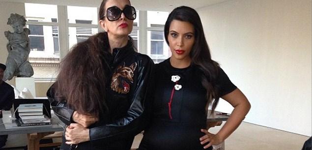 Kim Kardashian makes amends with Anna Wintour