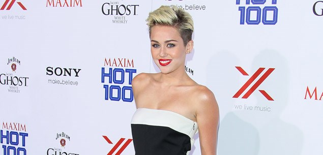 Miley Cyrus' make-up malfunction
