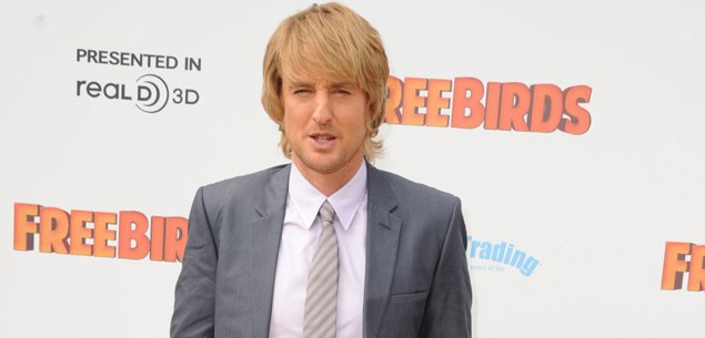 Owen Wilson is having a son