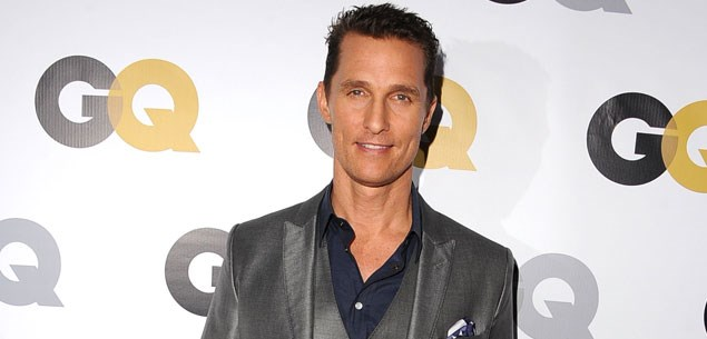 Matthew McConaughey still plays the drums naked