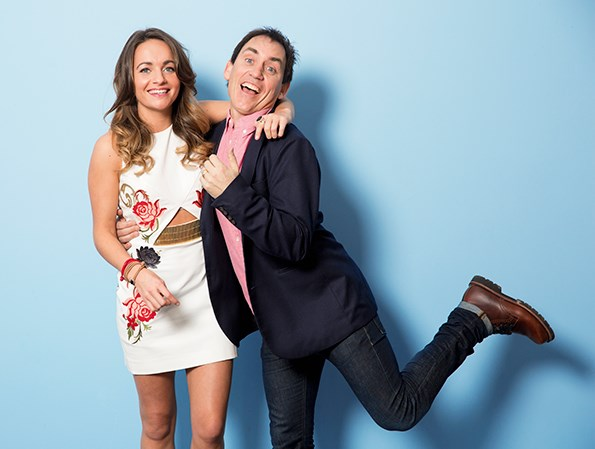 Jason and Grace are overjoyed to be reunited after she returned from Sydney to take up her new role on Shortland Street.