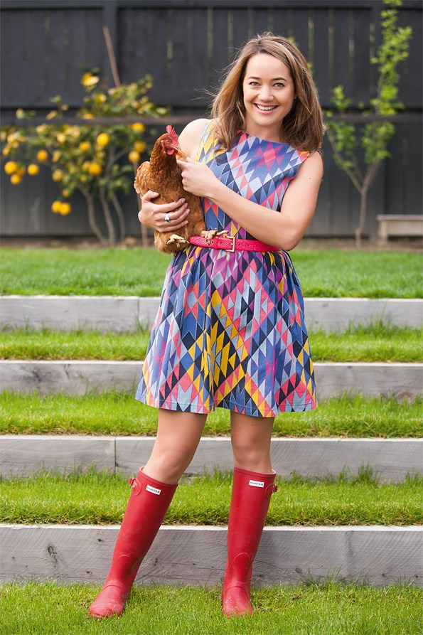 Rachel, who is a passionate environmentalist is the proud owner of six chickens.