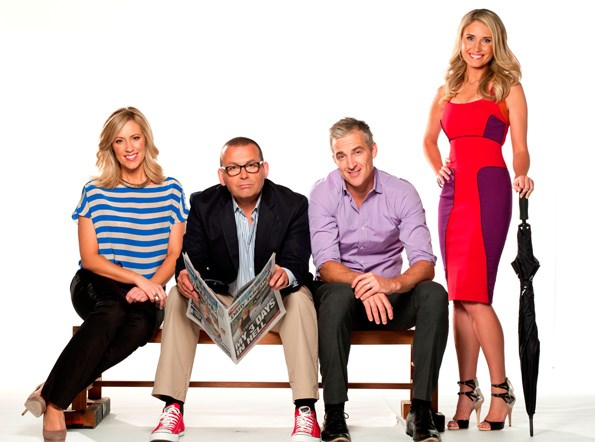 Paul says Network Ten's \'Breakfast\' wasn't given the support it needed.