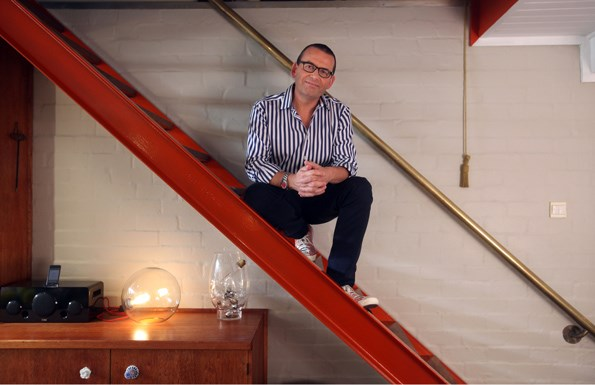Moving on: Paul's deciding what to do with his Sydney home.