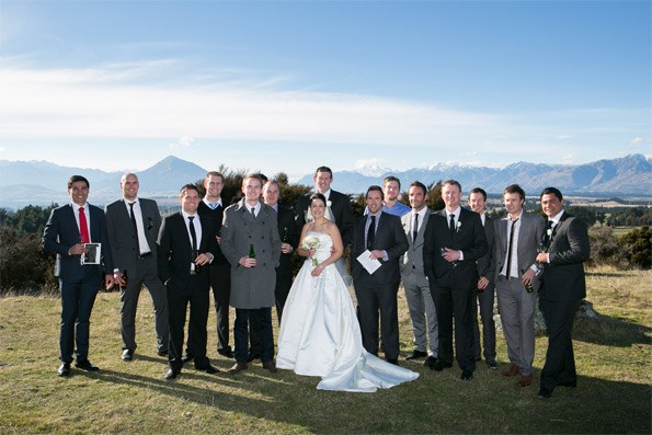 """Along with their 150 guests, Tom and Jacque had the time of their lives at the breathtaking location. """"It was stunning – a gorgeous day, just beautiful,"""" says Jacque."""