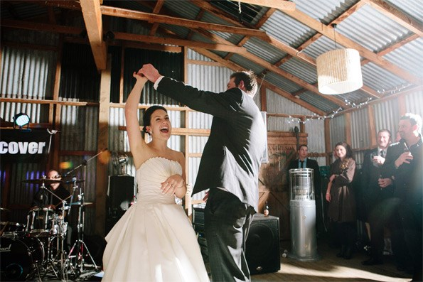 \'It was important not to get caught up in the fluff of it,\' says Jacque of her big day.