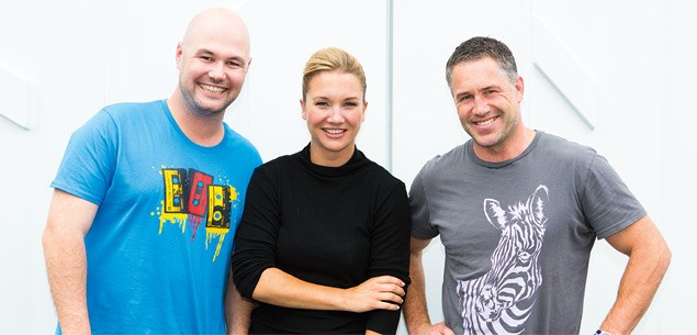 Marc, Hayley and Stu
