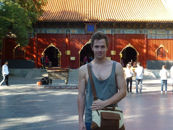 Harry's experiences in Beijing changed the way he views the world
