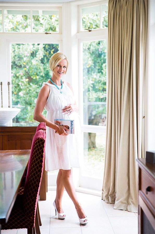 Suzy suffered postnatal depression after the birth of her firrst child, Ben