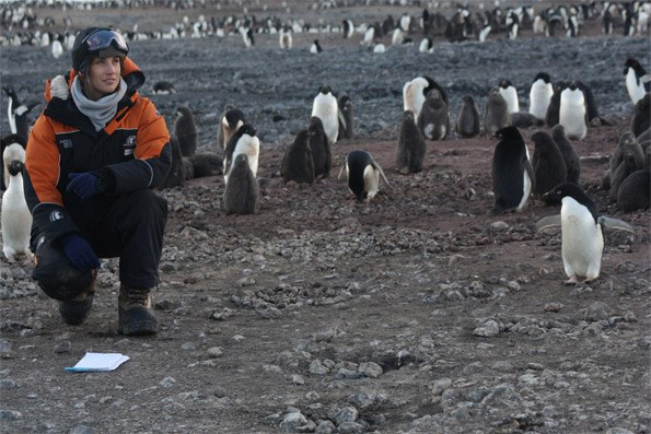 Travelling to Antarctica to report on environmental issues was a dream come true for Sam.