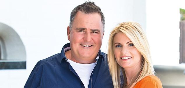 Simon Gault and wife Katrina