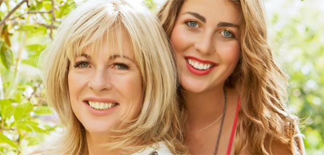 Annabel Langbein and daughter Rose