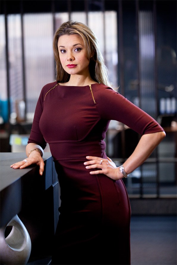 Anna has loved playing stroppy legal secretary Krystle on The Blue Rose – a role very different from Maia on Shortland Street.