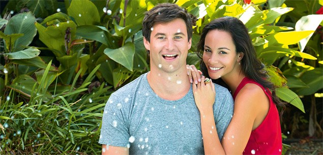 Shavaughn Ruakere and Clarke Gayford's special celebration