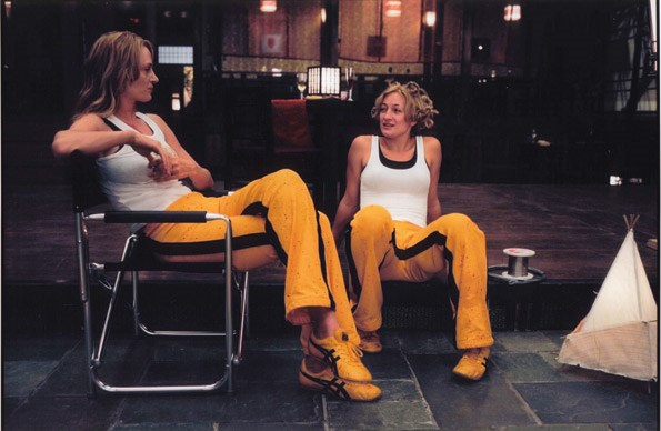 Working on Kill Bill as Uma Thurman's stunt double was her first taste of Hollywood
