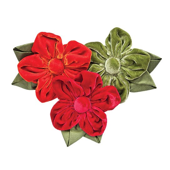 Tamsin Cooper's beautiful floral accessories deserve to be on display – even when they're not being worn. Silk velvet helleborus corsages $32.95