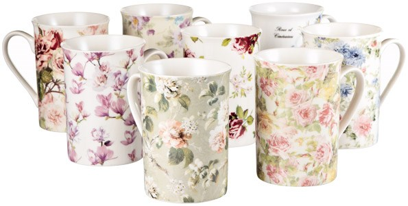 These pretty Creative Tops coffee mugs are just $9.99 each from Farmers.