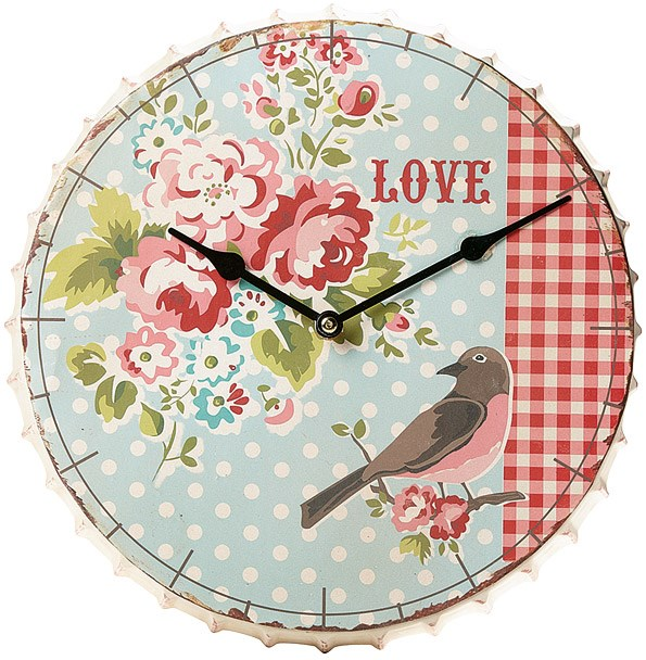 The Eden collection from The Warehouse features this cute clock $29.99 and coat hook $19.99