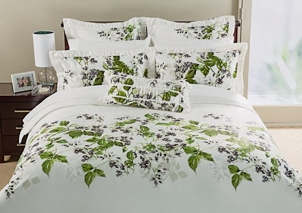 Beautify the bedroom with the Linen House Kew duvet cover set, queen $149.99, from Farmers.