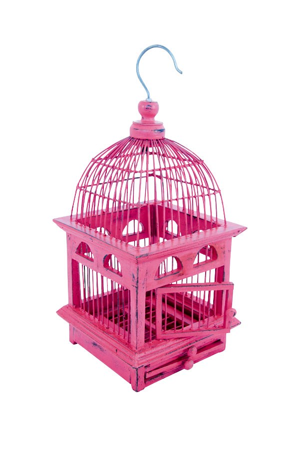 Buy this utterly adorable decorative birdcage for $48 at Redcurrent.