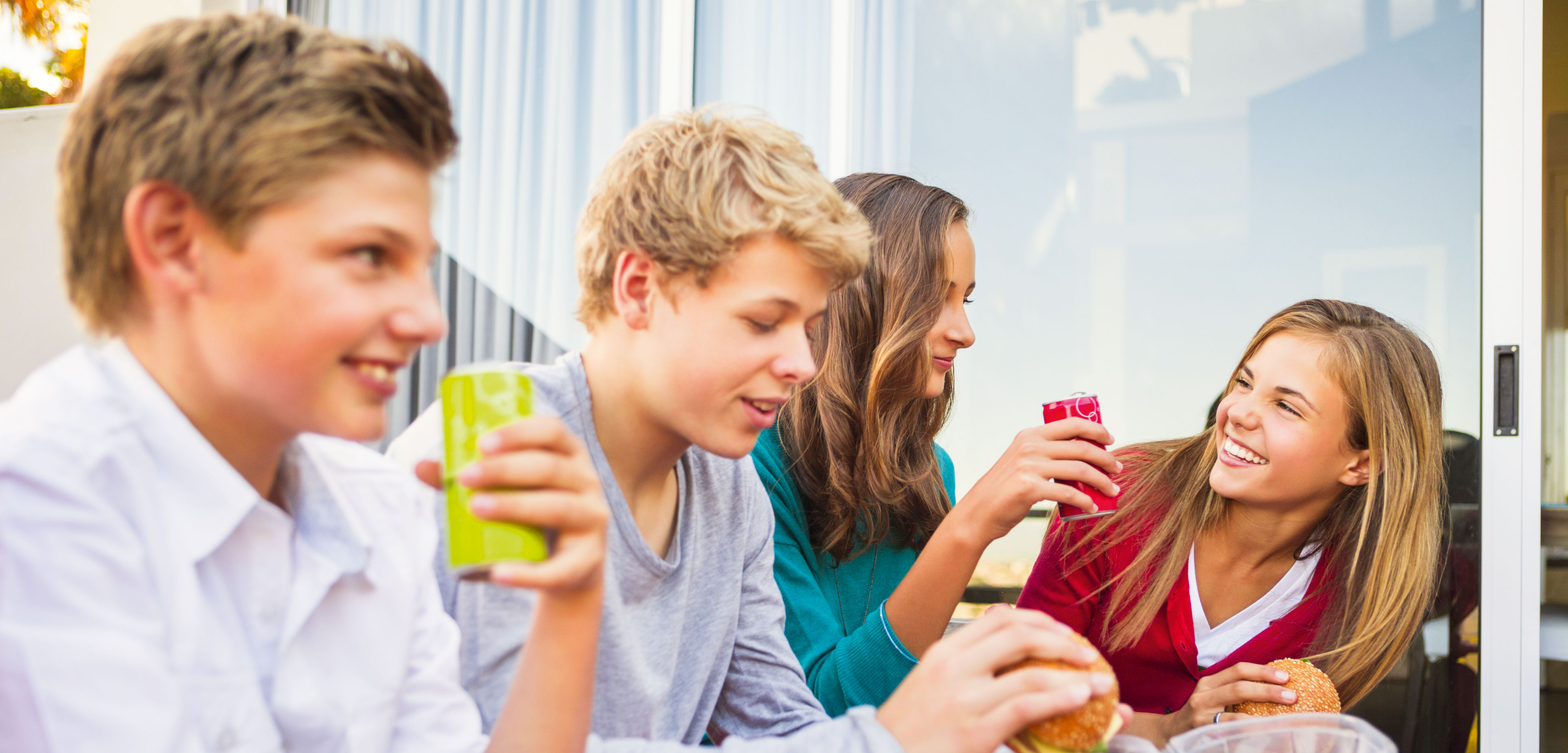 teens eating healthy We have a special emphasis on eating healthy lean proteins the protein food group is the purple part of the new myplate and the food pyramid.