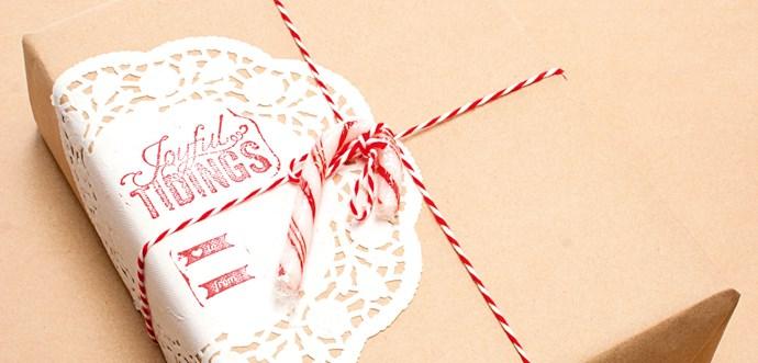 Craft - Creative Christmas wrap