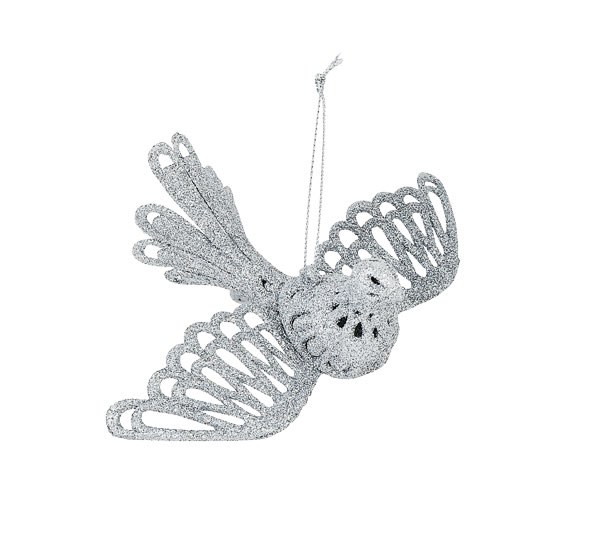 Bird Glitter Ornament  (2 Piece) $3 from The Warehouse
