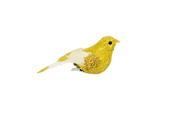 Clip-on glitter bird $4.50 from Redcurrent