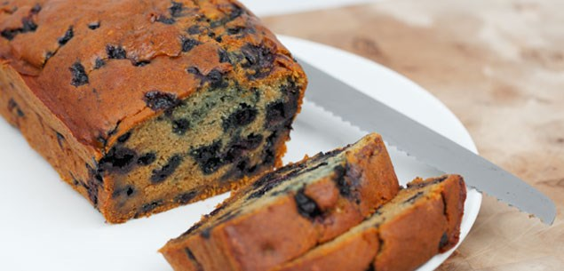 Retro recipe: Blueberry bread