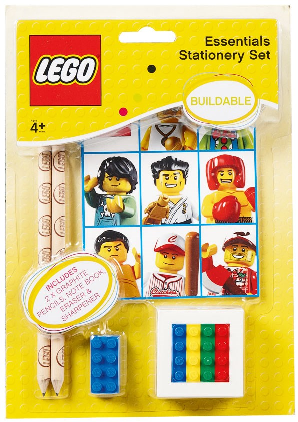 LEGO Classic Stationery Set $9 from THE WAREHOUSE