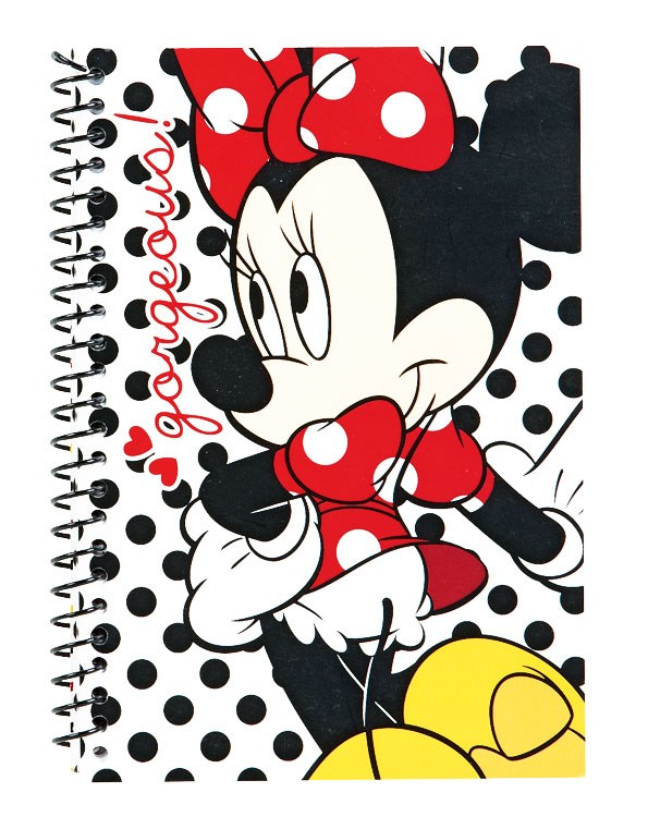 Minnie Mouse A5 Bound Notebook $12 and Spiral A5 Notebook $10 from THE warehouse