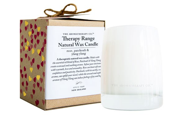 Limited Edition Valentine's Day Therapy Candle $29.99 from THE AROMATHERAPY COMPANY