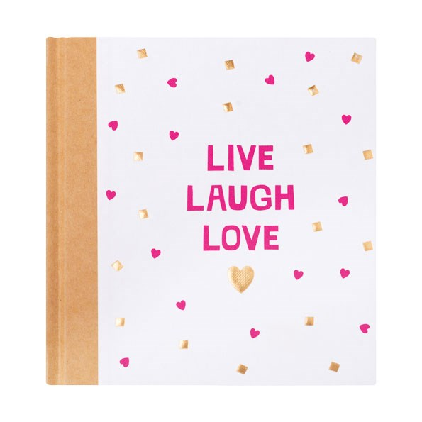 Live Laugh Love Quote Book $29.90 from KIKKI.K
