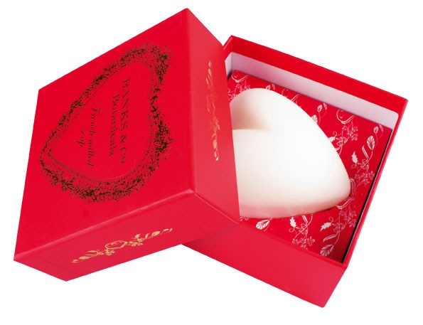 Banks & Co Boxed Heart Soap $19.90 from CHAMBERS