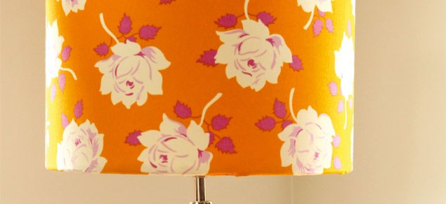 Craft: DIY lampshade