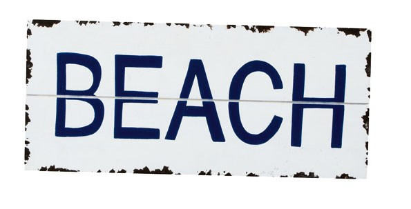 Nautical Beach Sign $9.99 from THE WAREHOUSE