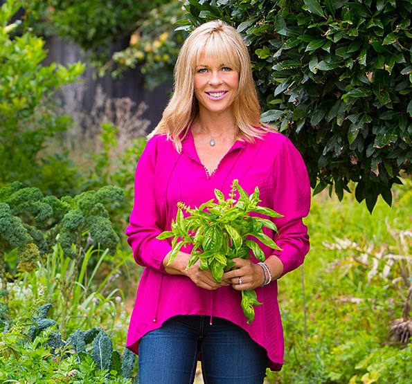 Annabel's garden is a sanctuary and a source of inspiration for her recipes.