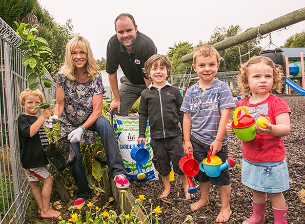 Learning how to grow their own food and enjoy eating the results has helped the children of Awatere Playcentre understand the outdoors and cope with recent natural catastrophes.