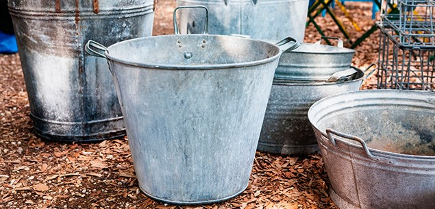 Gardening: Accessorise with silver