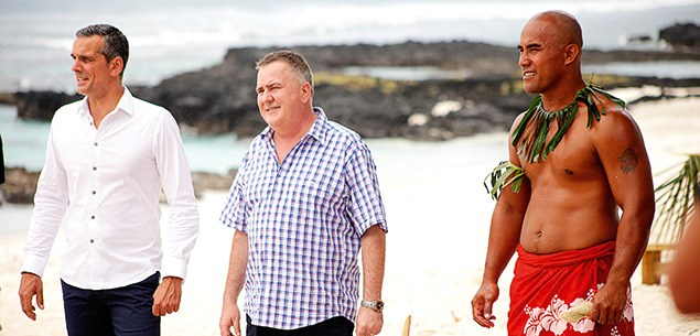 MasterChef judges in Samoa