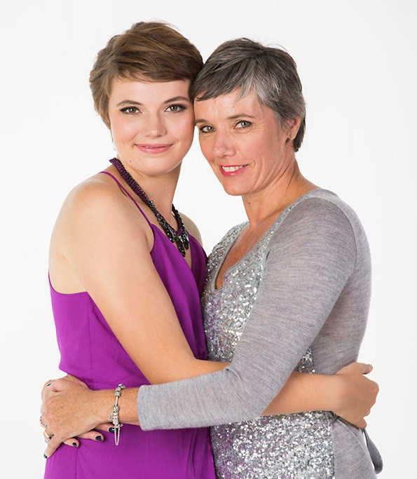 Why have one mum when you can have two? Lucy says her real-life mum, Susan, can be fierce like Wendy, but is more fun-loving.