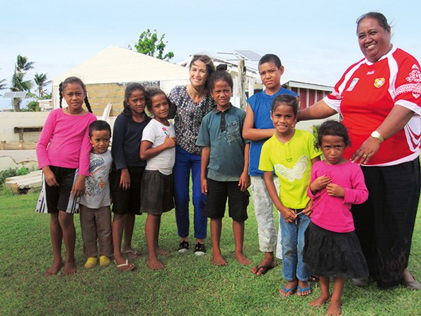 While in Tonga, Sacha reported on her experience for TV3, and was deeply moved by the conditions in which many families were living.