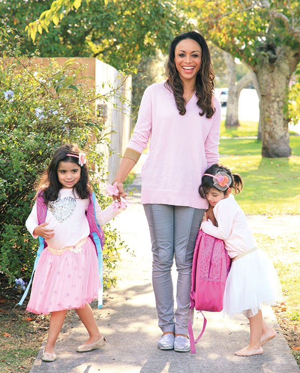 Now her gorgeous girls have turned five and started school, Sonia's looking to take on more work outside the home, including a cause close to her heart.