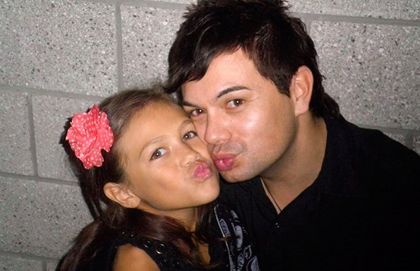 The singer has a special connection with goddaughter Oceana.
